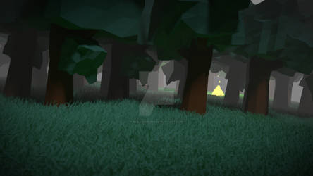 Forest Campfire 2