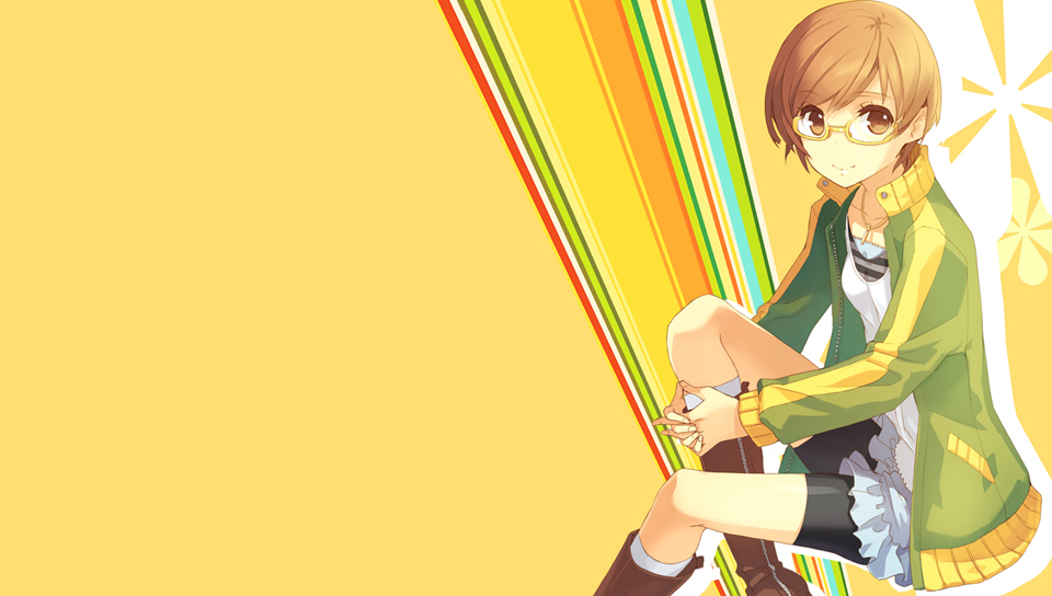Persona 4 Chie Playstation Vita Wallpaper By Oreely On