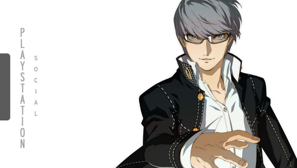 Persona 4 Hero Playstation Vita Wallpaper Custom by Oreely