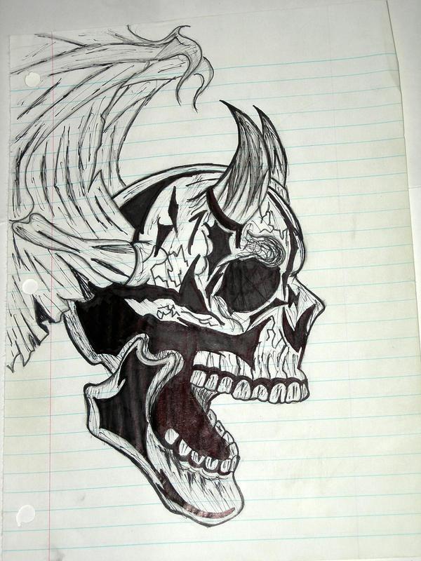 Bad Ass Skull 100