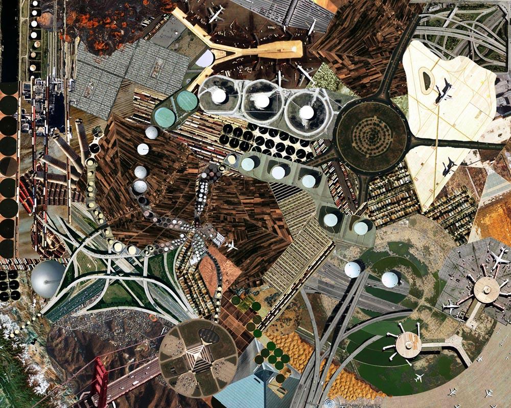 Google earth art