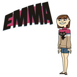 TotalDrama OC Emma by tamoti