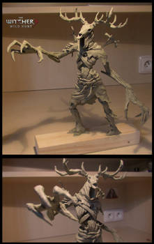 Leshen Witcher 3 fanart sculputre