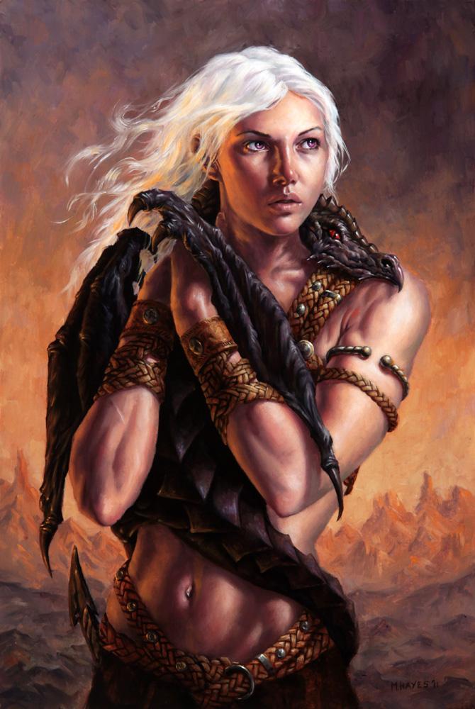 Daenerys Targaryen By Michael C Hayes On DeviantArt
