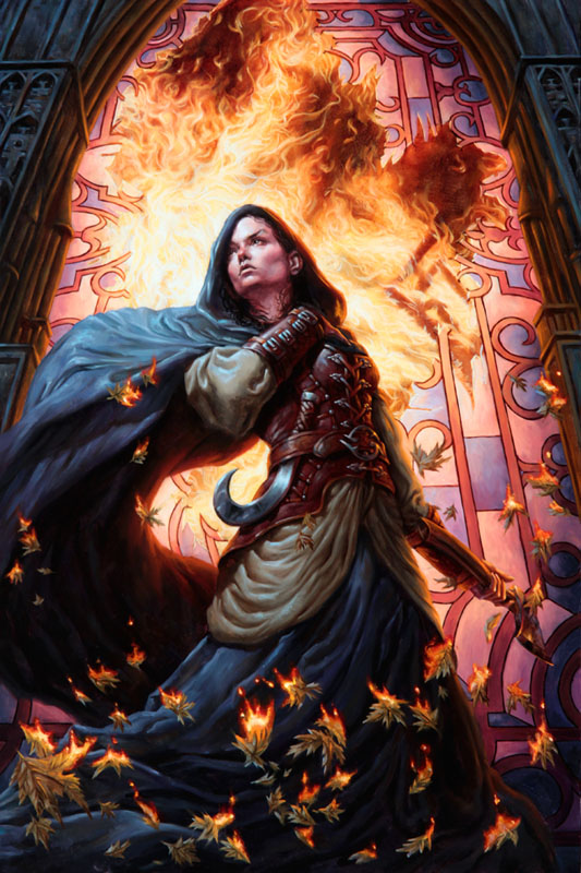 Defiance (MT:G Human Token) by Michael-C-Hayes