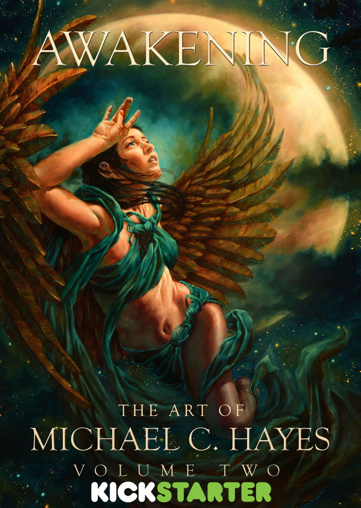 Awakening: The Art of Michael C. Hayes, Volume Two by Michael-C-Hayes