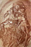 Death of Arthur (Preliminary) by Michael-C-Hayes