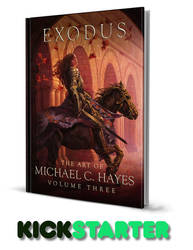 Exodus: The Art of Michael C. Hayes Volume Three