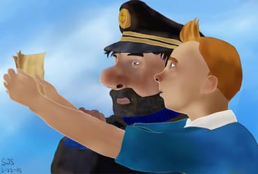 Tintin-and-Haddock DeviantArt Gallery
