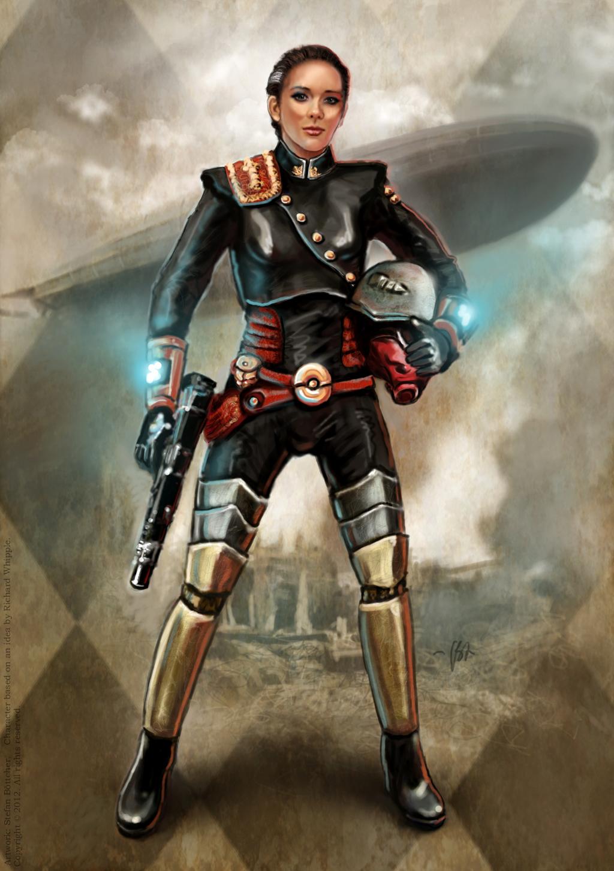 Lady Grenadier By Art Dewhill On Deviantart