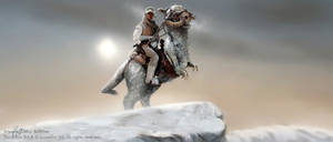 On Tauntaun Back (Widescreen)