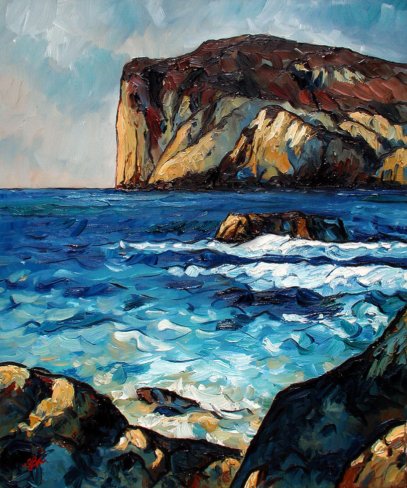 Coastline of Javea by Art-deWhill