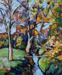 Herbstlicher Schnatzengraben