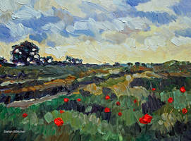 Poppy Dots by Art-deWhill