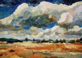 Wolkenpoesie by Art-deWhill