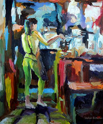 Untitled (Behind the Counter)