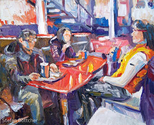 Untitled (Fast Food Dinner) by Art-deWhill
