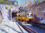 Linie U6 Haltestelle Rastatter Strasse by Art-deWhill