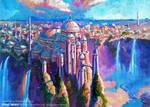 Theed Royal Palace by Art-deWhill