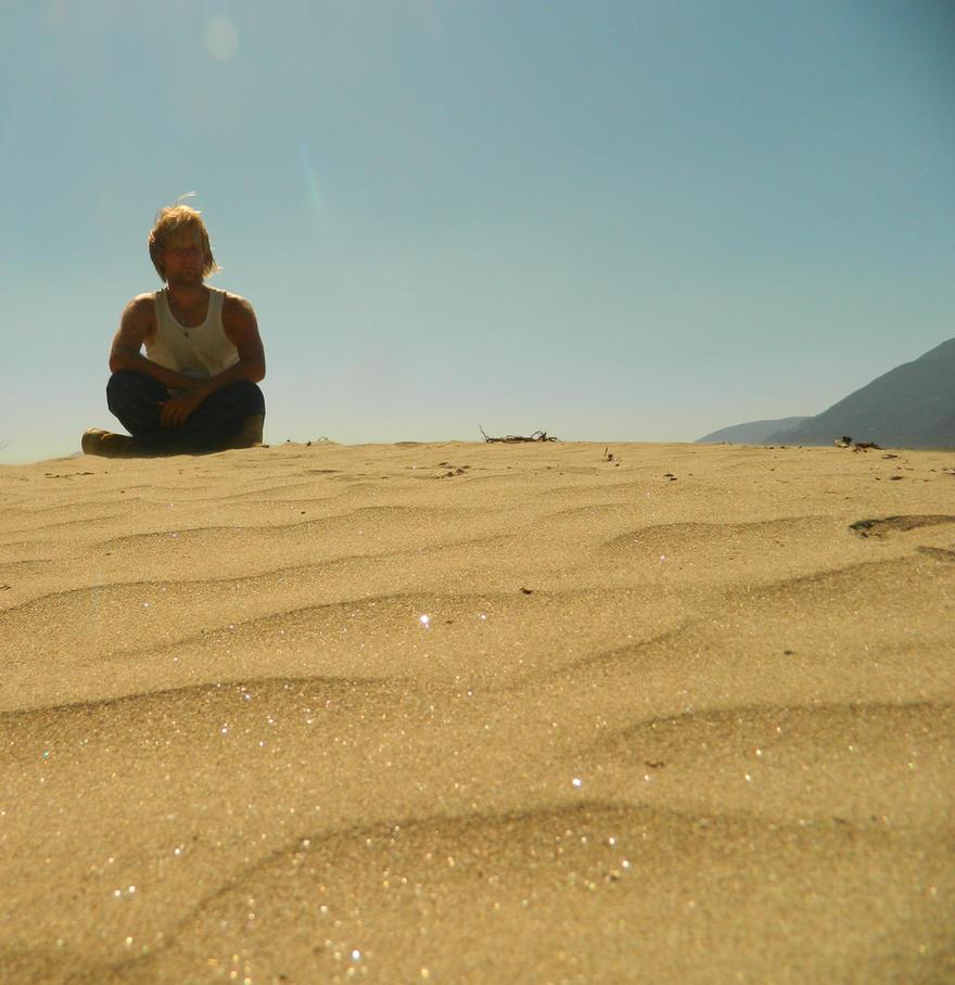 Golden sand by Matthew-Fuller