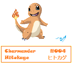 004 Charmander by Beatrisse058