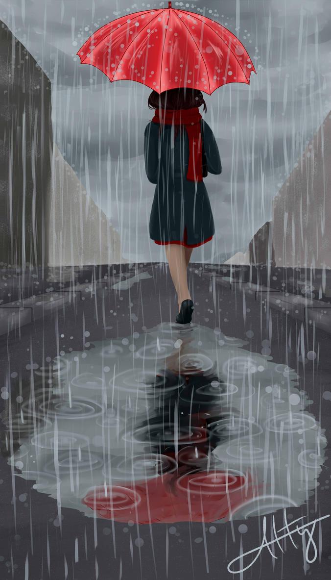 Rainy day by Atterca