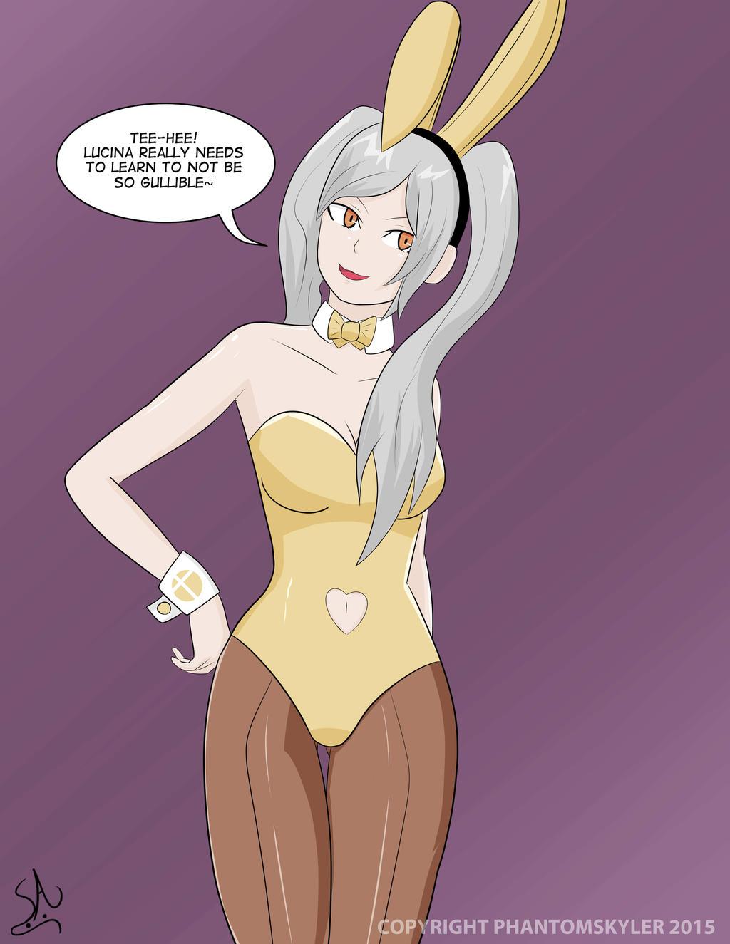 Super Smash Bunnies - Robin by PhantomSkyler