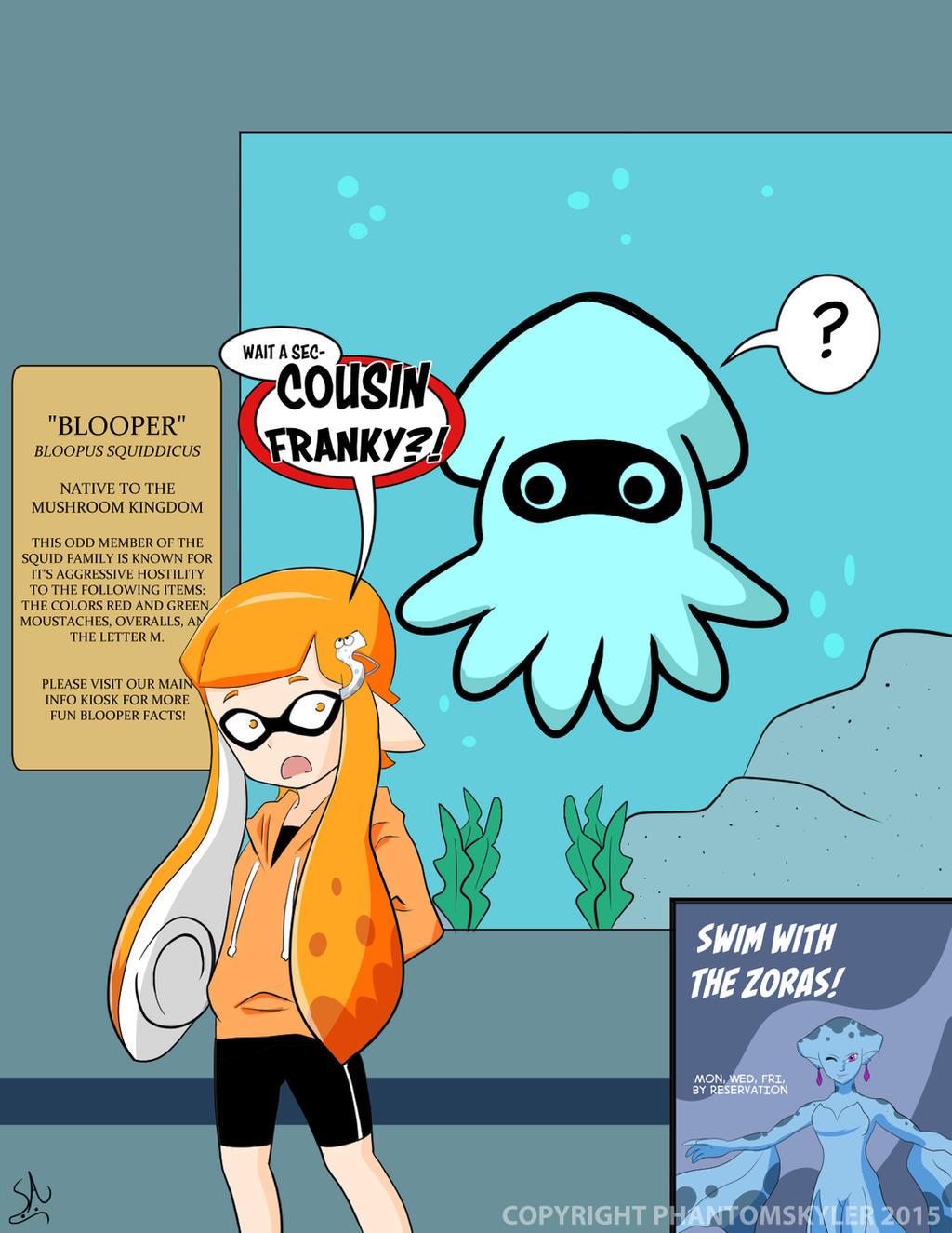 Splatoon Family Encounter By Phantomskyler On Deviantart
