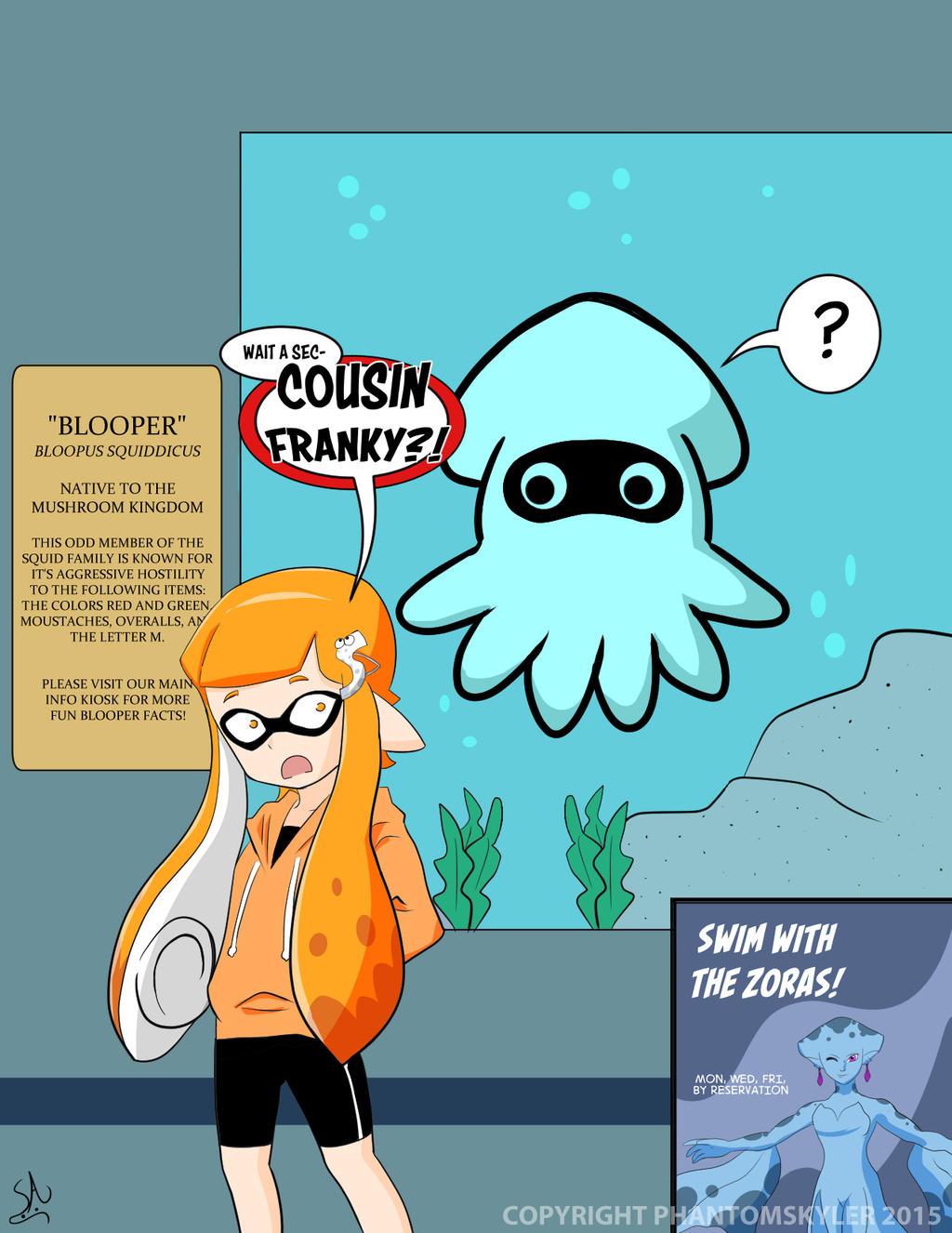 Splatoon - Family Encounter by PhantomSkyler