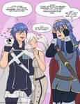 Chrom and his Family Together at Last