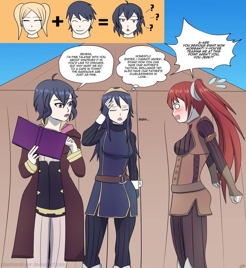 Commission - Many Morgans - Chrom!Morgan by PhantomSkyler