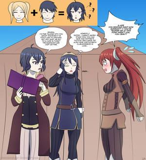 Commission - Many Morgans - Chrom!Morgan