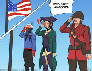 Commission: The 3 Patriotic Shmucks