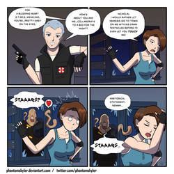 Resident Evil 3 Comic - Jill's Love Life