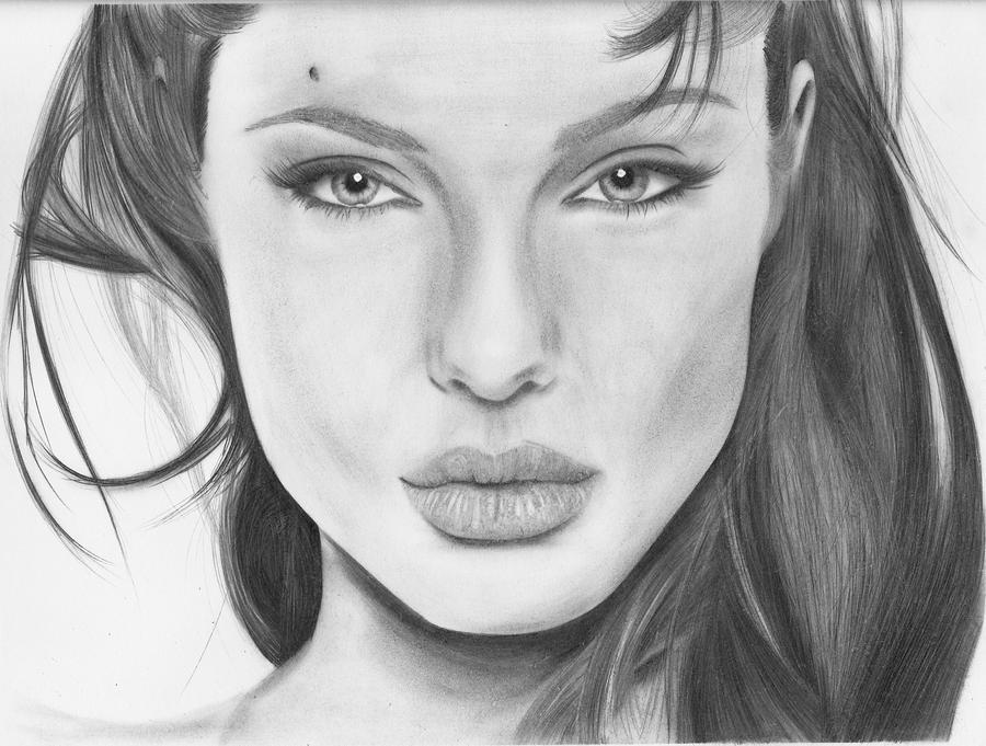 Angelina Jolie By Slan-12 On DeviantArt