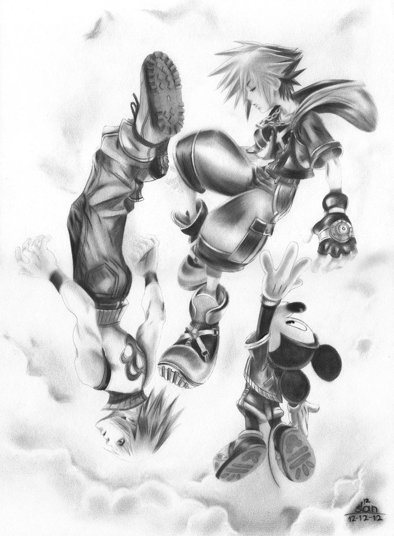 Kingdom Hearts 3DS by slan-12