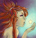 .Swallowed a Falling Star.