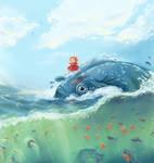.Ship-Shape with Ponyo.