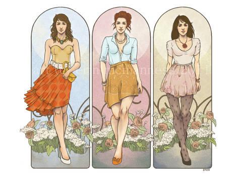 .Fashion and Alphonse Mucha.