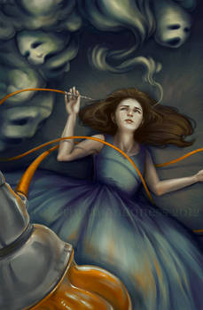 .Alice Smoking Opium.