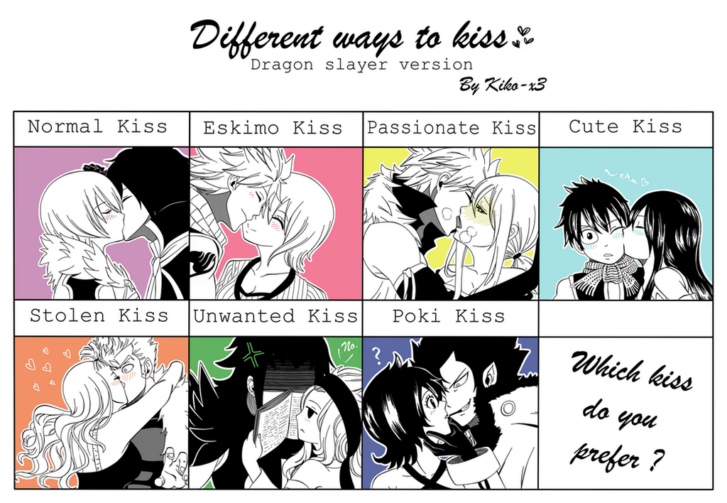 What Are The Different Ways To Kiss