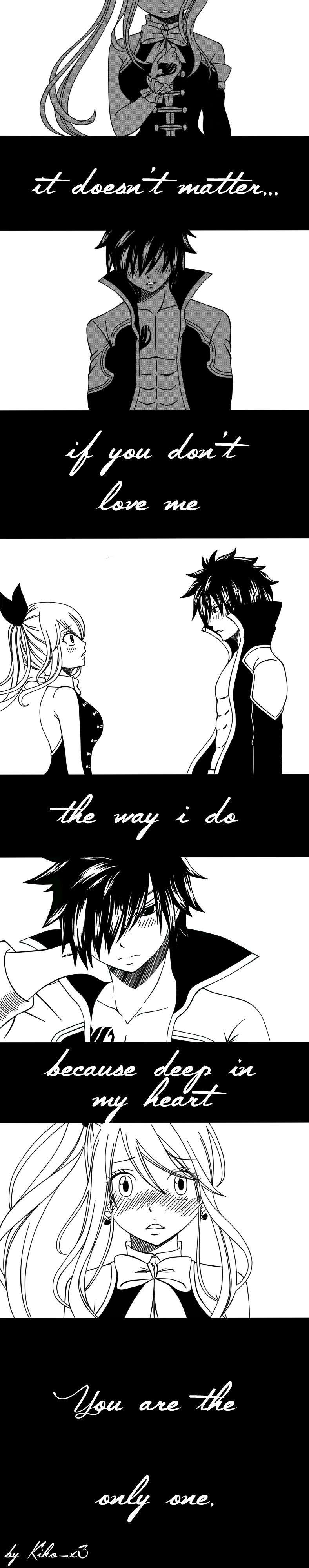 Gray x Lucy kiss animation by Milady666 on DeviantArt