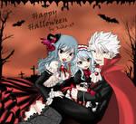 Halloween family [Lyon x Juvia]