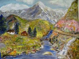 In the Caucasus Mountains