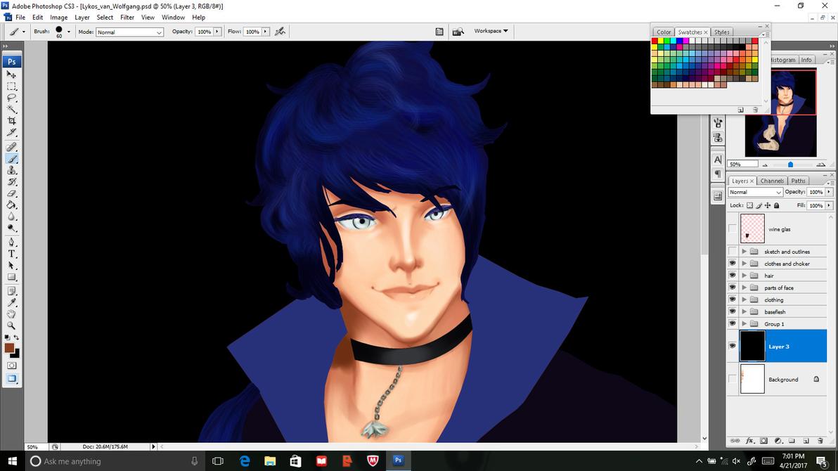 New character!!! by SapphiresArtShelf