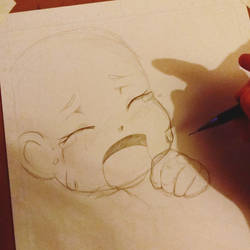 Avathae the manga official page sketch by Avathae-Mangaka