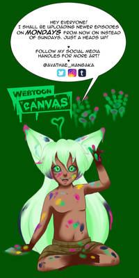 Avathae Webtoon Canvas schedule!