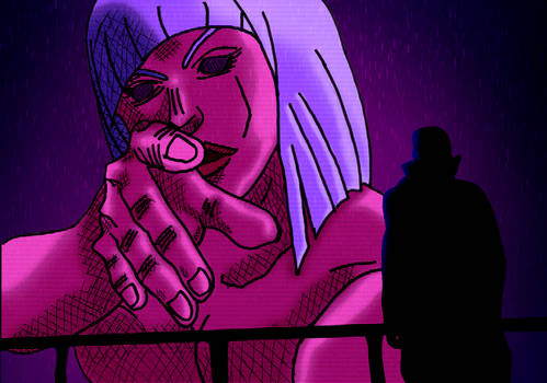 Giant Purple Waifu from BladeRunner2049 [1st ver.]
