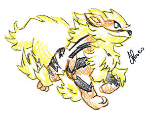 Day #143 - Arcanine (Last Day)
