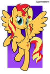 Sunset Shimmer alicorn